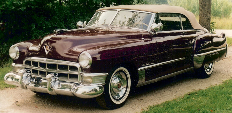 1949 Cadillac Convertible Series 62 Restoration
