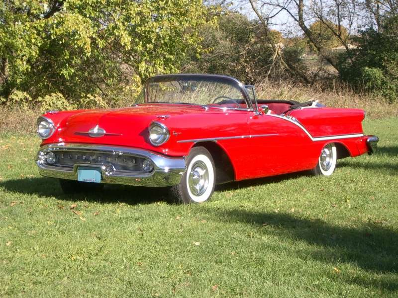 1957 oldsmoble super88 convertible
