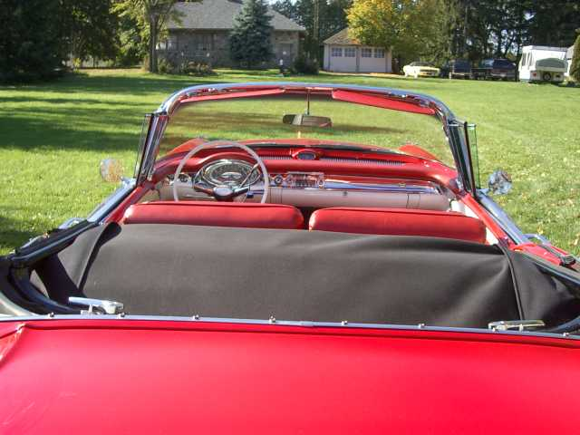 1957 oldsmobile interior