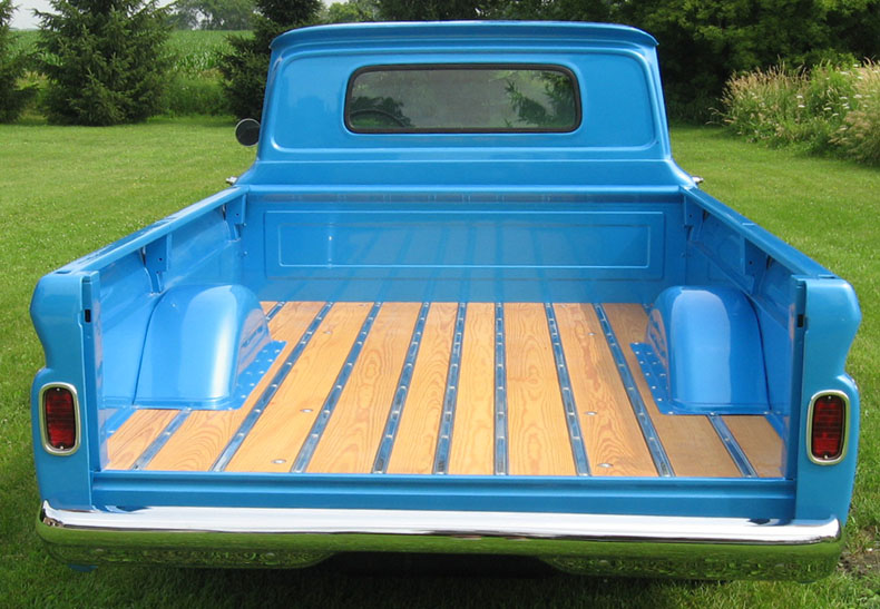1964 chevy pickup wood bed