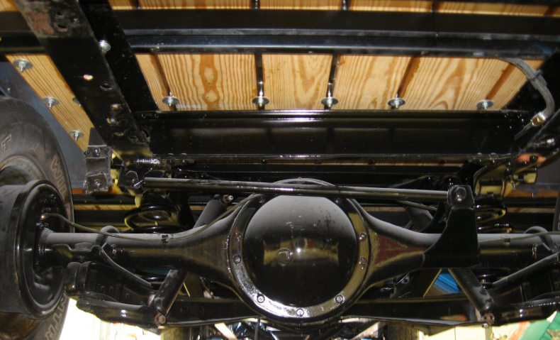 1964 chevy pickup underside