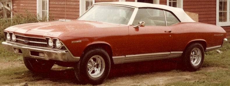 1969 Chevelle Convertible Restoration