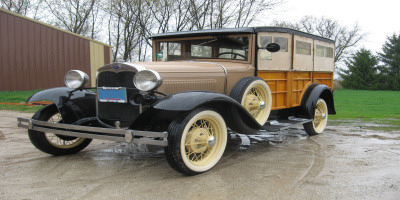 1930 Ford Woody Wagon Restoration