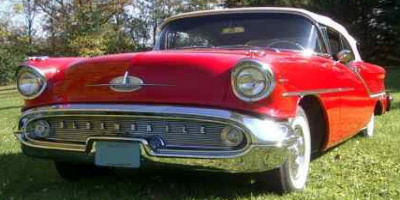 1957 Oldsmobile Convertible Classic Car Restoration